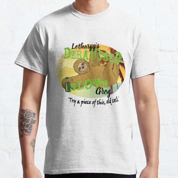 Lethargy's Debauched Sloth Grog Classic T-Shirt