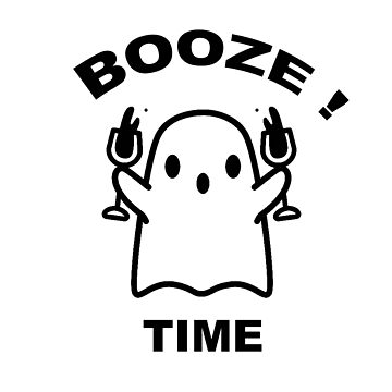 BOO & BOOZE TIME by CUPIDDESIGNS