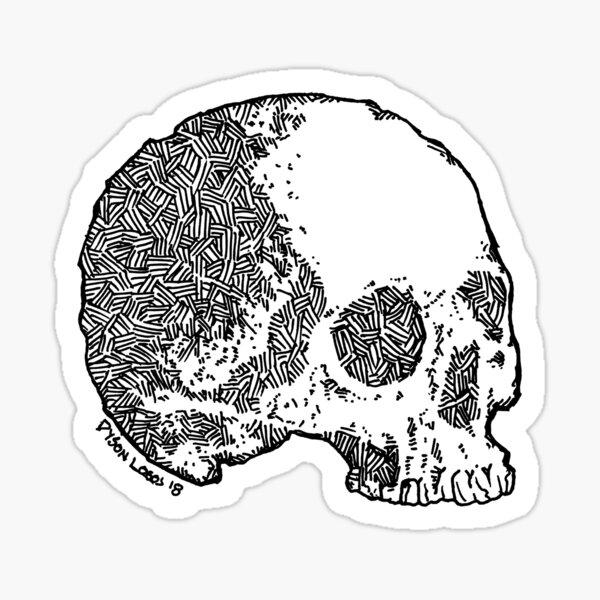 Skull Variations 2 Sticker