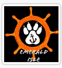 Emerald Isle NC Sticker