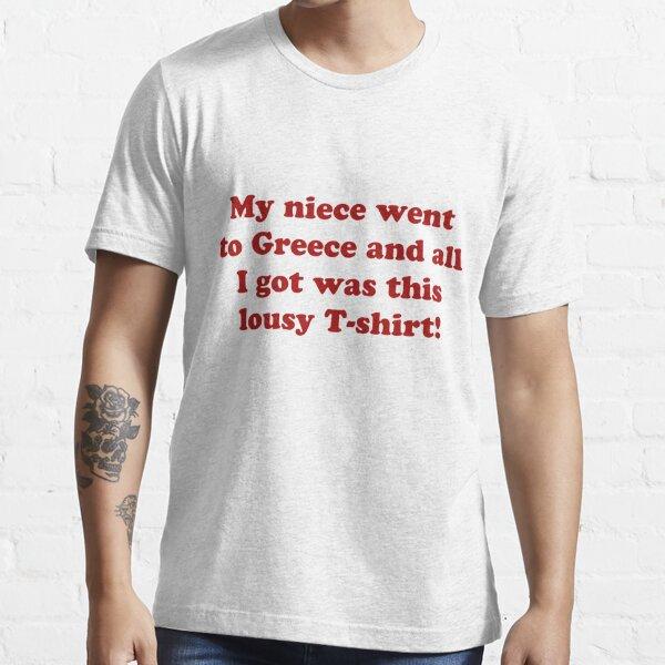 Bryn West Gavin und Stacey T-Shirt Essential T-Shirt