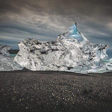 Diamond Beach Iceland by 66latitudenorth
