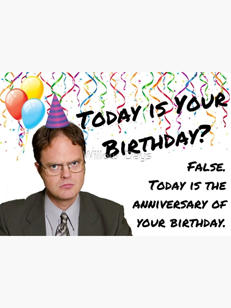 The Office, Dwight Schrute birthday by avit1