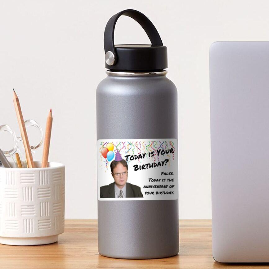 The Office, Dwight Schrute birthday Sticker