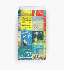 Dr. Seuss Book Covers Duvet Cover