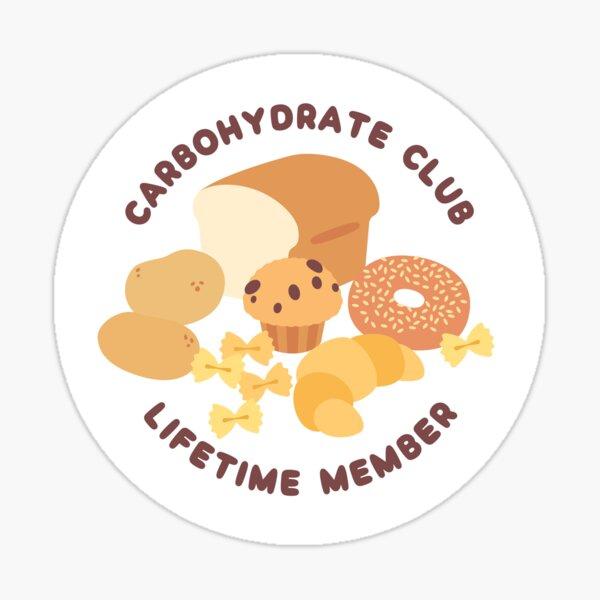 Carbohydrate Club Sticker
