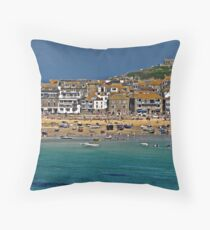Harbours Throw Pillow