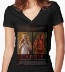 Carrie 2013 Fitted V-Neck T-Shirt