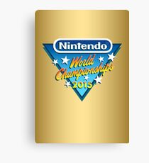 Nintendo World Championships 2015 Logo Canvas Print