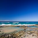 Champagne Pools, Fraser Island by Richard  Windeyer