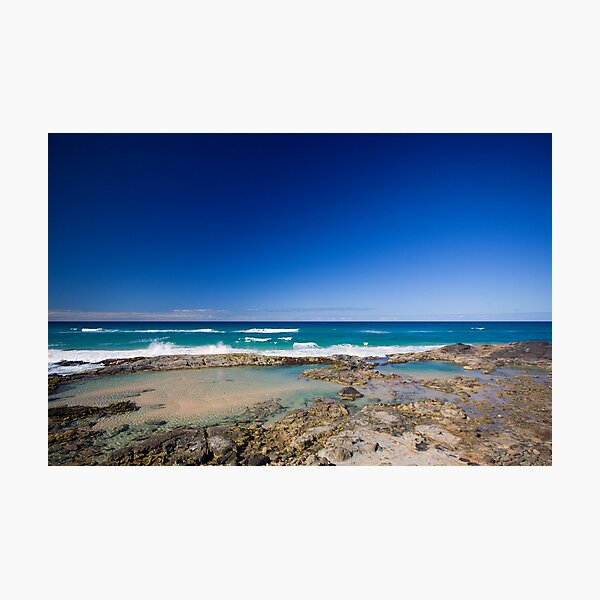 Champagne Pools, Fraser Island Photographic Print