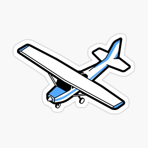 Cessna aircraft Sticker