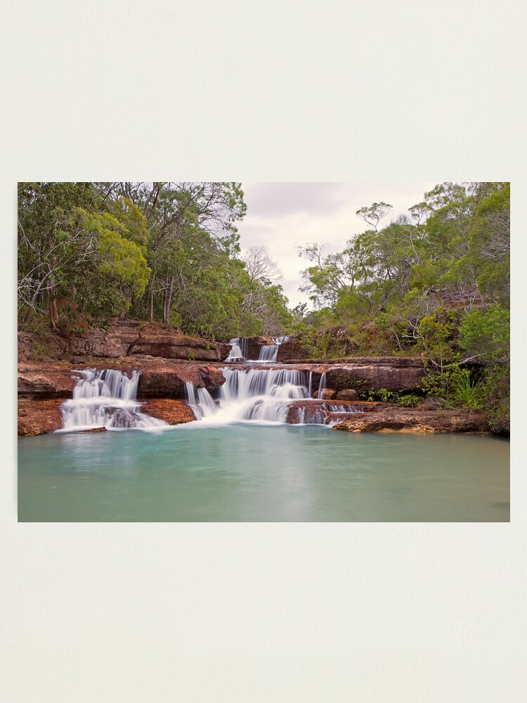Alternate view of Twin Falls Photographic Print