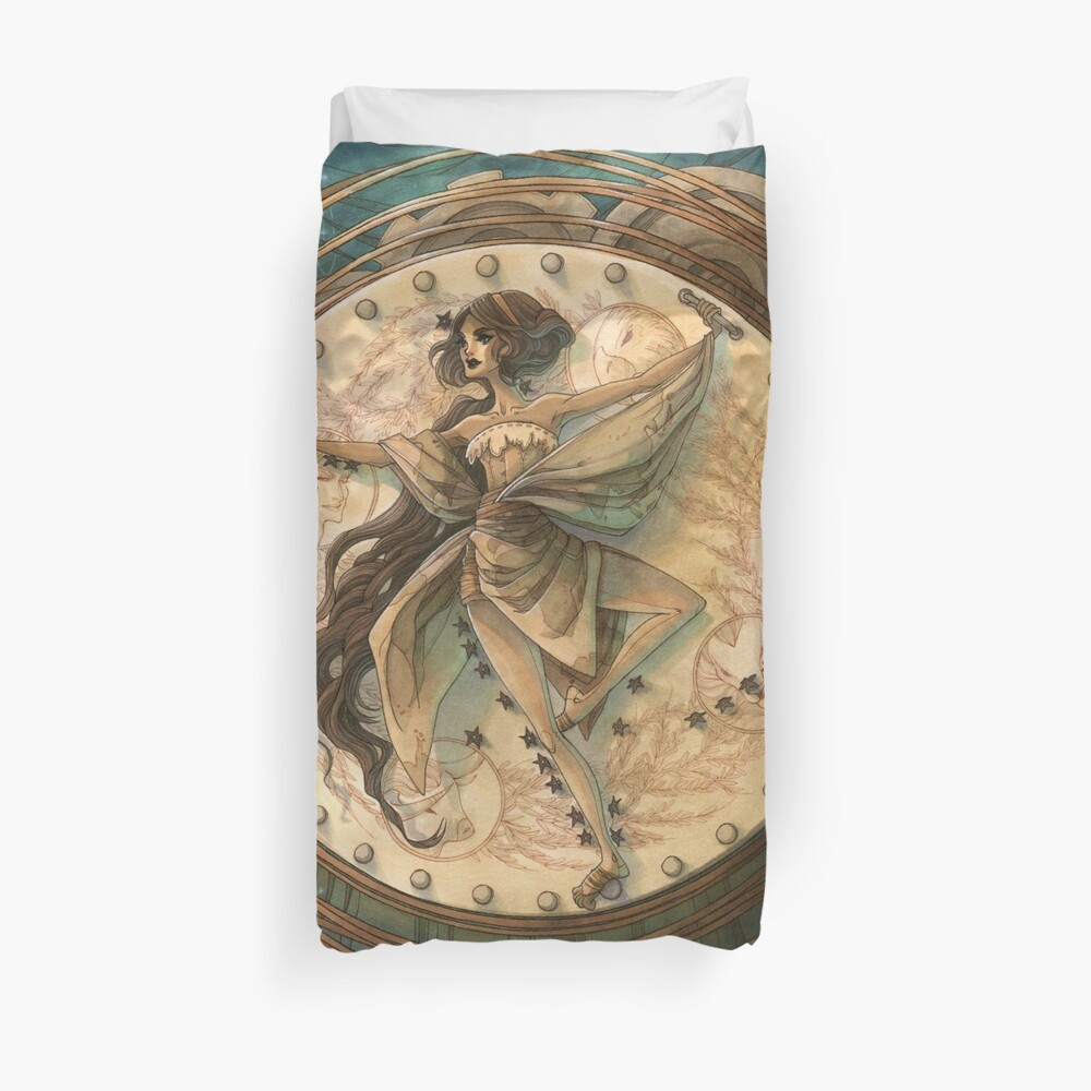 Tarot - The World Duvet Cover