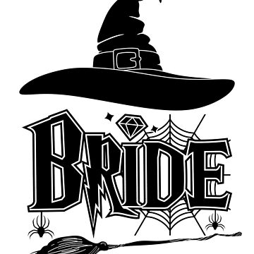 Halloween Bride Wedding Bachelor party T-shirt by Eman85