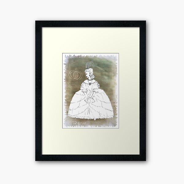 Cinders for the Wall Framed Art Print