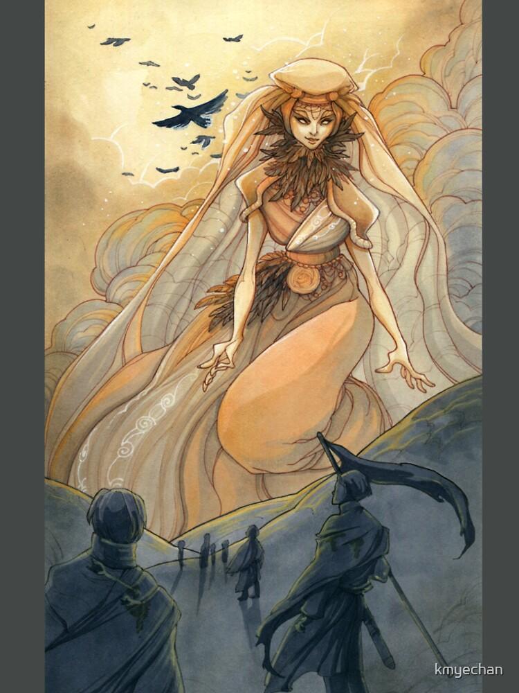 Tarot - Judgement (The Morrigan) by kmyechan