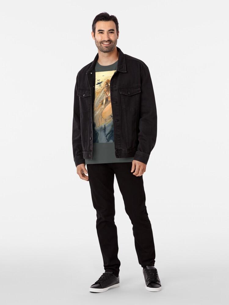 Alternate view of Tarot - Judgement (The Morrigan) Premium T-Shirt