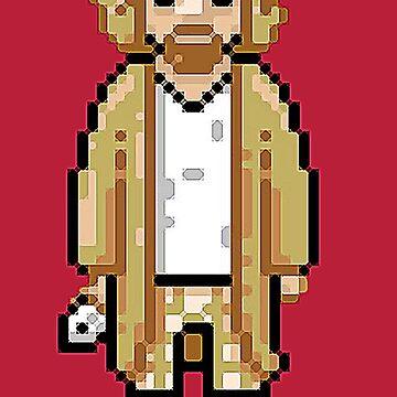 The 8-bit Dude by unclestich