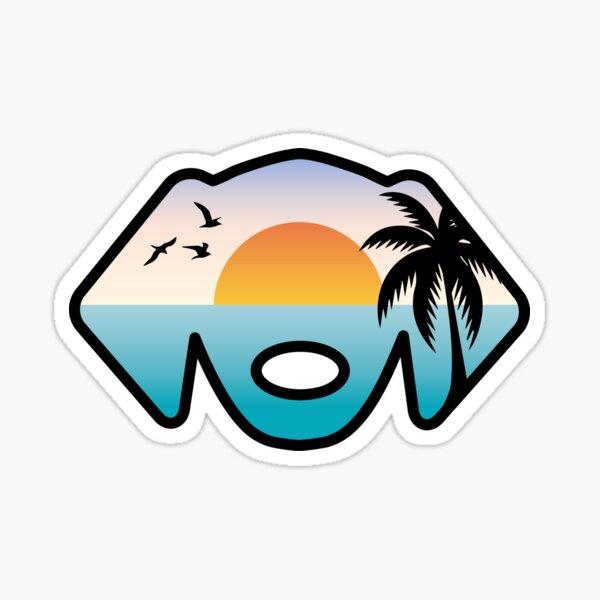 Beach Dog Sticker