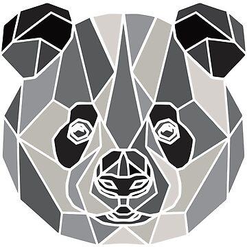 Polygon Panda by Jakaru