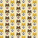Shiba Inu Pixels by FrogNebula
