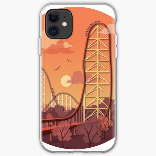 Top Thrill Dragster Achterbahn iPhone Flexible Hülle