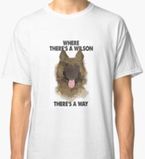 Jim Friday Night Dinner Wilson- 'Where There's A Wilson There's A Way' Classic T-Shirt
