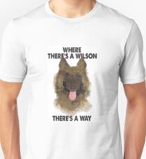 Jim Friday Night Dinner Wilson- 'Where There's A Wilson There's A Way' Unisex T-Shirt