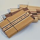 Cheese Slicing Boards 001-004 by Robert's Woodworking Studio