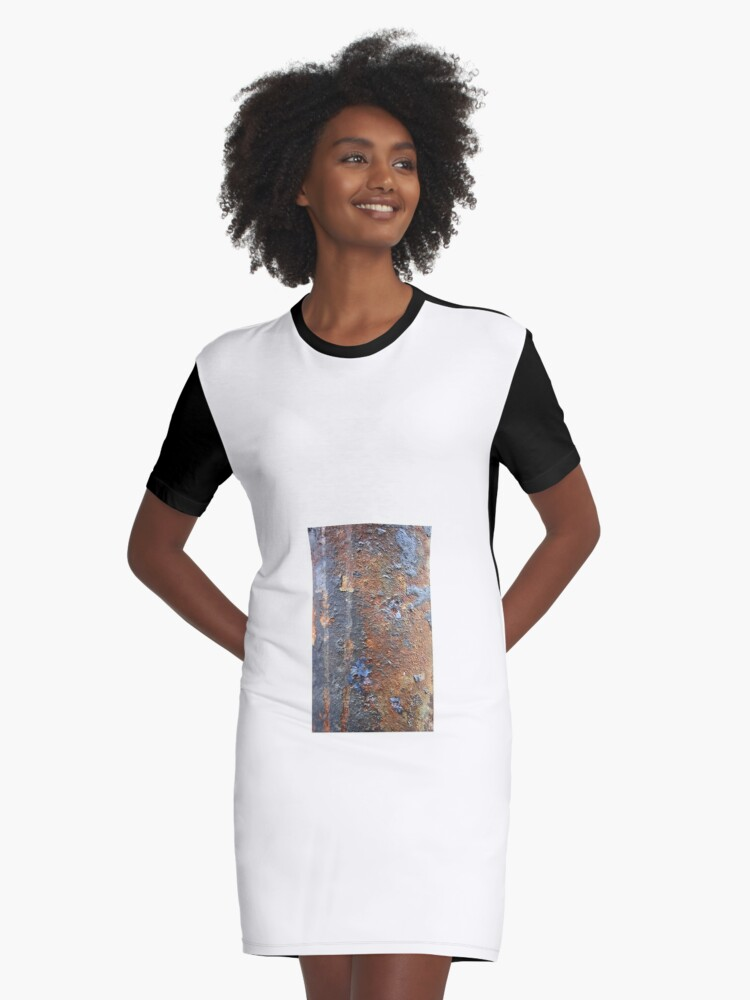 Rusty Case Graphic T-Shirt Dress Front