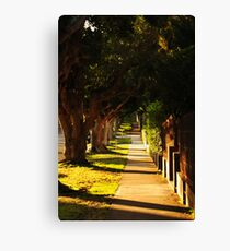 A very quiet day Canvas Print