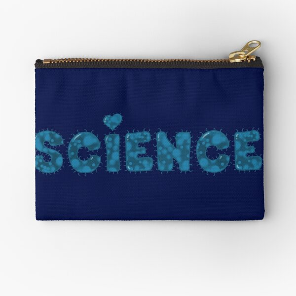 Love for Science Zipper Pouch