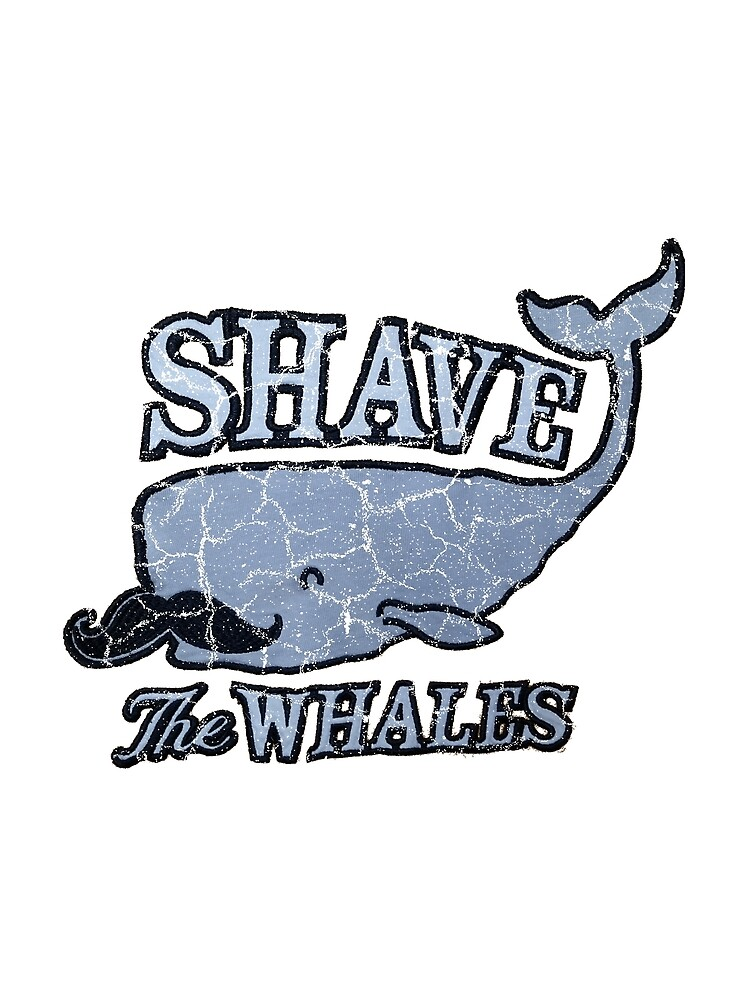 Shave the Whales / Pun of Save the Whales by joehx