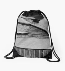 """""""Just a house"""" Bodie CA  Drawstring Bag"""