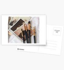 1989 polaroids w. paintbrush aesthetic Postcards