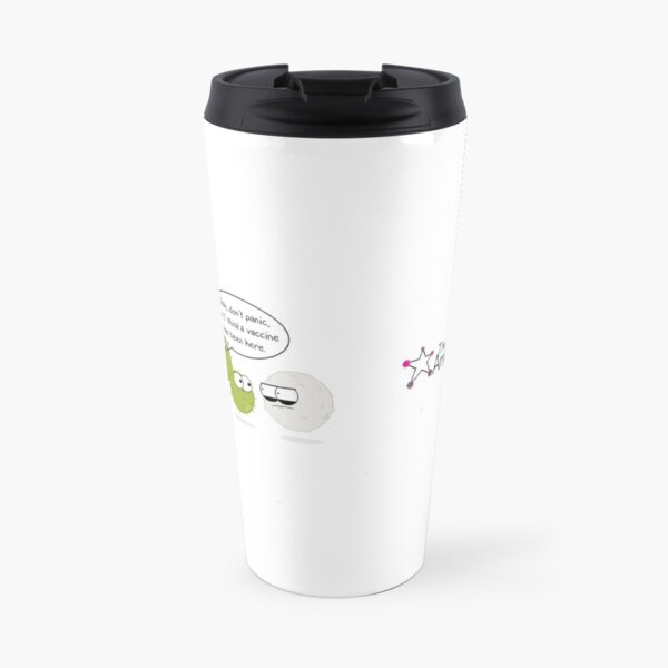Wanted Virus Travel Mug