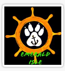 Emerald Isle  Sticker