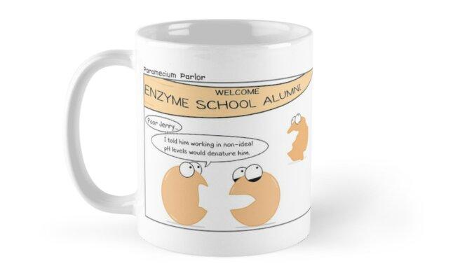 Enzyme Gossip by amoebasisters