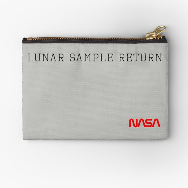 Lunar Sample Return Pouch Zipper Pouch