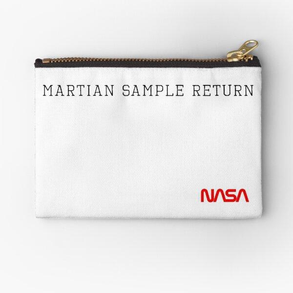 Martian Sample Return Zipper Pouch