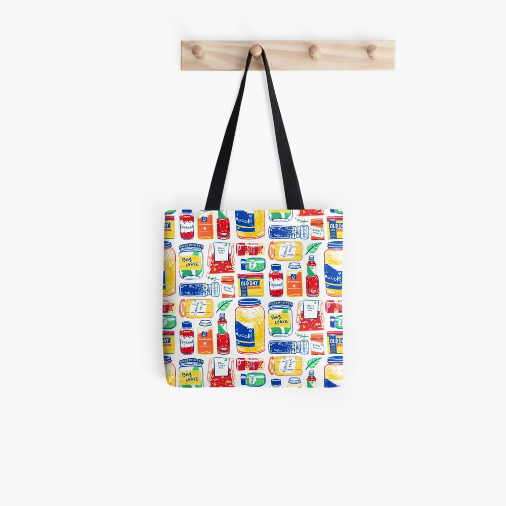 Spices Colorful Graphic Painting Tote Bag