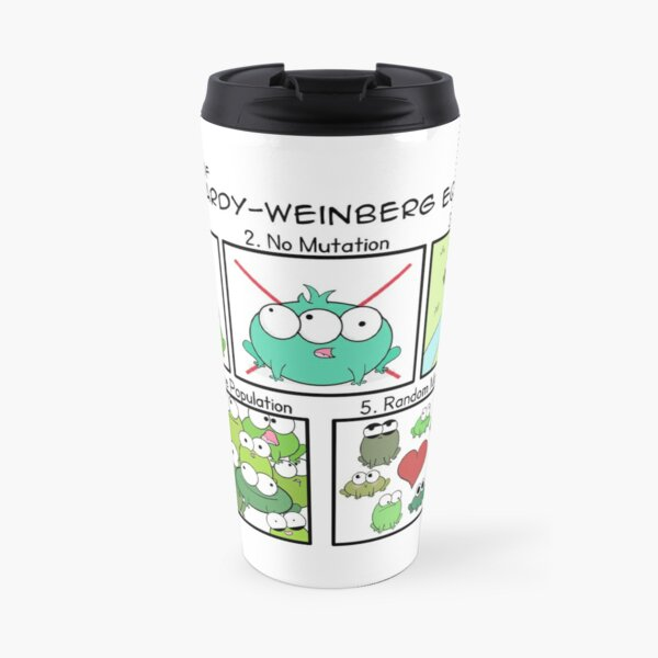 Assumptions of Hardy-Weinberg Equilibrium Travel Mug