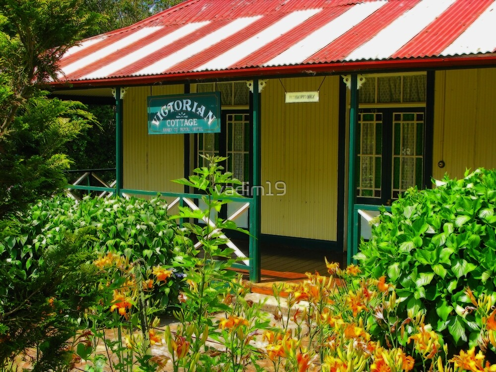 A Cottage at Pilgrim's Rest, South Africa  by vadim19