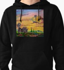 Castle Dragon Pullover Hoodie