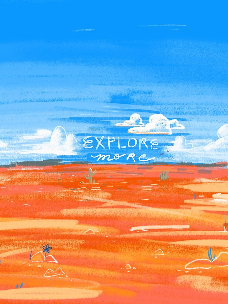 Explore More Desert Art Inspirational by Ragonia