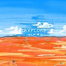 Explore More Desert Art Inspirational by Ragonia