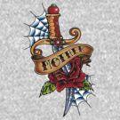 Oldschool Tattoo-Dagger by tattoofreak