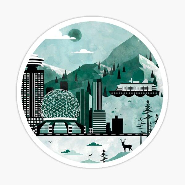 Vancouver Illustration Sticker