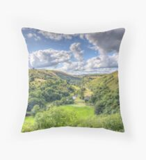 Divine as the Vale of Tempe Throw Pillow
